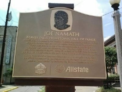 Joe Namath Marker image. Click for full size.