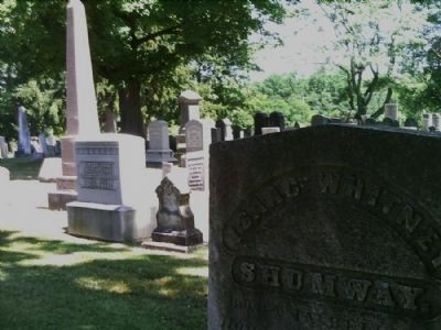 Burying Ground Headstones image. Click for full size.