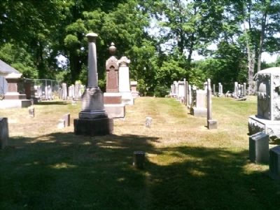 More Burying Ground Headstones image. Click for full size.