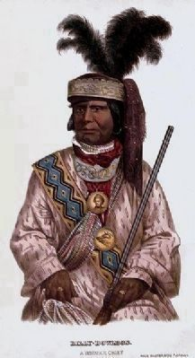 (Old) Billy Bowlegs, aka Chief Alligator, Seminole image. Click for full size.