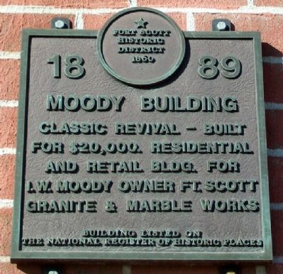 Moody Building Marker image. Click for full size.