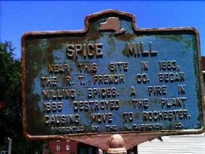 Spice Mill Marker image. Click for full size.