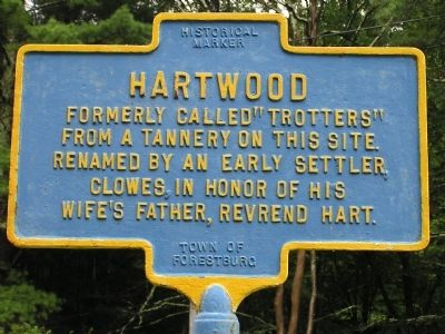 Hartwood Marker image. Click for full size.