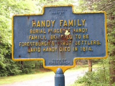 Handy Family Marker image. Click for full size.