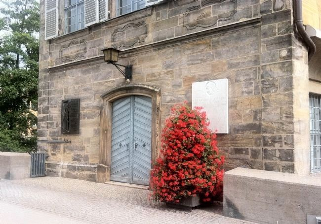 Bamberg's World War II Fallen and Missing Marker - wide view image. Click for full size.