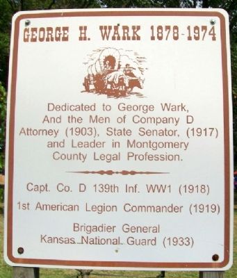 George H. Wark 1878 - 1974 Marker image. Click for full size.
