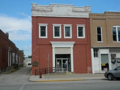Masonic Lodge Building of 1887 image. Click for full size.