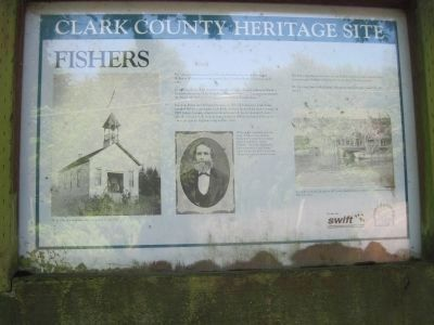 Fishers Marker image. Click for full size.