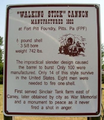 """Walking Stick"" Cannon Marker image. Click for full size."