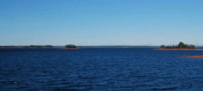 Hartwell Lake<br>From Overlook Walkway<br>South Carolina Side image. Click for full size.