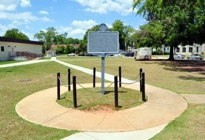 Fort Benning Military Reservation Marker (Side 2) image. Click for full size.