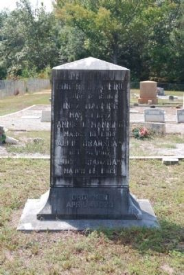 Harpers Ferry Drowning Marker<br>East Inscription image. Click for full size.