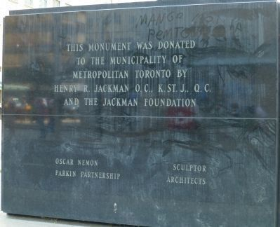 Canadian Airmen Monument: Marker Panel 4 image. Click for full size.