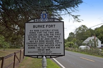 Burke Fort from Route 5- Brattleboro Road (South) image. Click for full size.