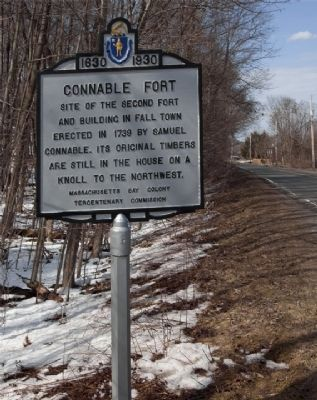 Connable Fort , Route 5, Brattleboro Road (North) image. Click for full size.