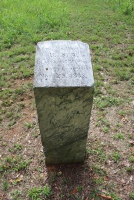 8th U.S. Missouri Infantry Marker image. Click for full size.