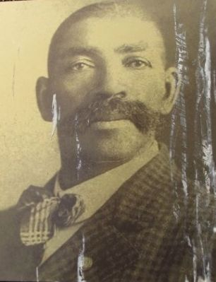 Deputy U.S. Marshal Bass Reeves image. Click for full size.