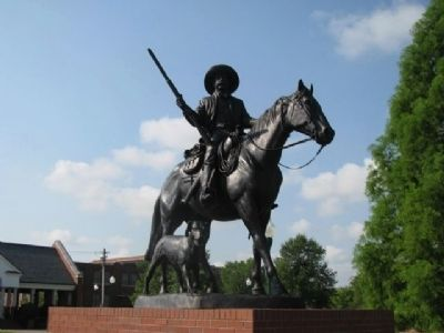 Deputy U.S. Marshal Bass Reeves Statue image. Click for full size.