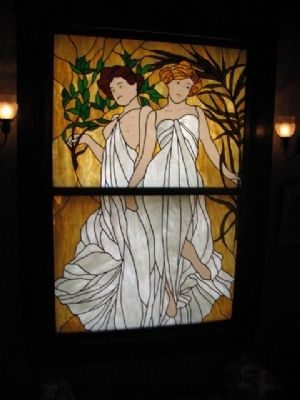 Miss Laura's beautiful stain glass window image. Click for full size.