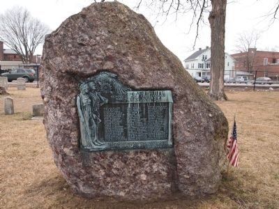 Memory of the Revolutionary Soldiers Marker image. Click for full size.