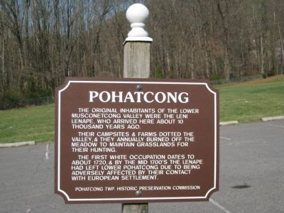 Pohatcong Marker image. Click for full size.
