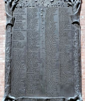 """Honor Roll of Names"" image. Click for full size."