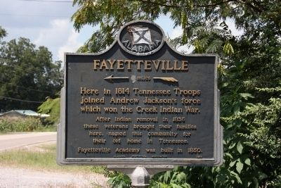 Fayetteville Marker image. Click for full size.