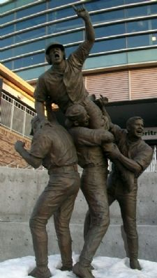 The Road to Omaha Sculpture image. Click for full size.