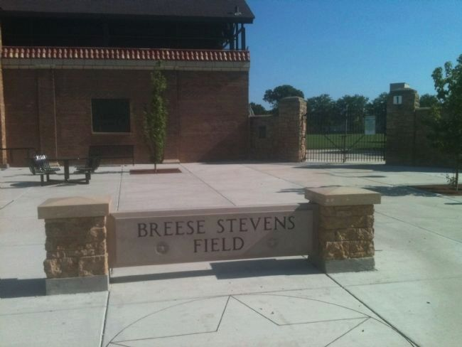 Breese Stevens Field Marker image. Click for full size.