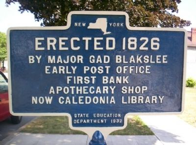 Erected 1826 Marker image. Click for full size.