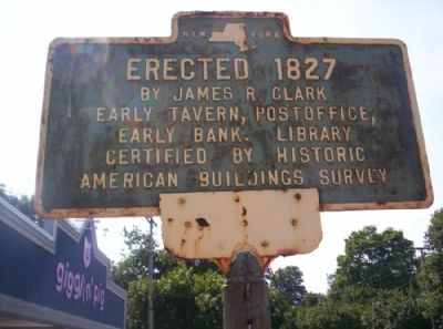 Erected 1827 Marker image. Click for full size.