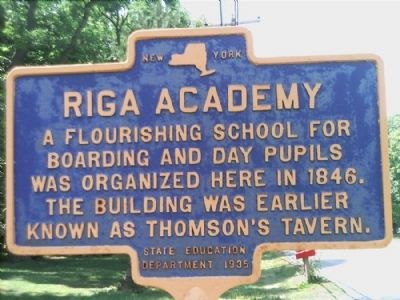 Riga Academy Marker image. Click for full size.