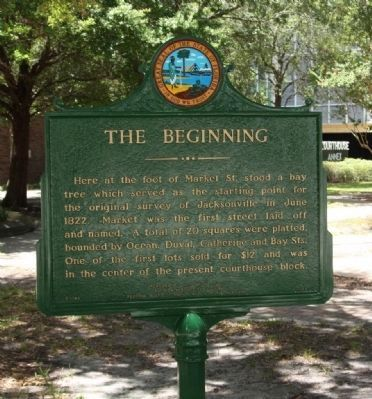 The Beginning Marker image. Click for full size.