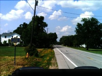 South Avon Marker as seen facing north on 39 image. Click for full size.