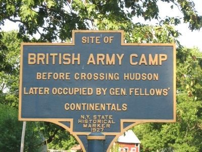 British Army Camp Marker image. Click for full size.