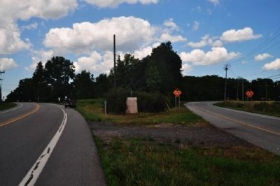 1668-1709 Marker as seen facing north on 15A image. Click for full size.