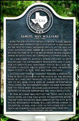 Samuel May Williams Marker image. Click for full size.