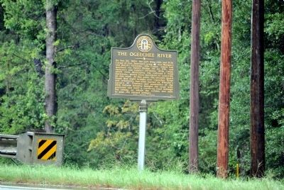 The Ogeechee River Marker image. Click for full size.