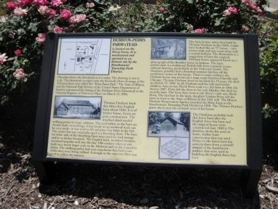 Durham-Perry Farmstead Marker image. Click for full size.