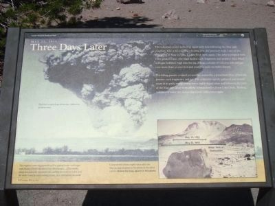 Devastated Area Marker - Three Days Later image. Click for full size.