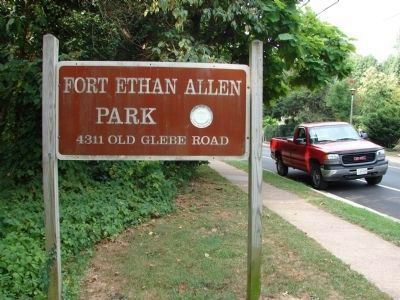 Fort Ethan Allen Park 4311 Old Glebe Road image. Click for full size.