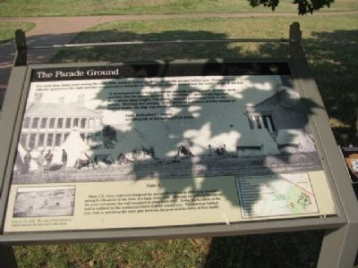 The Parade Grounds Marker image. Click for full size.