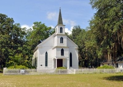 Walthourville Presbyterian Church image. Click for full size.