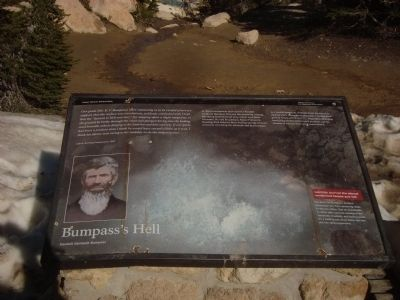 Bumpass's Hell Marker image. Click for full size.
