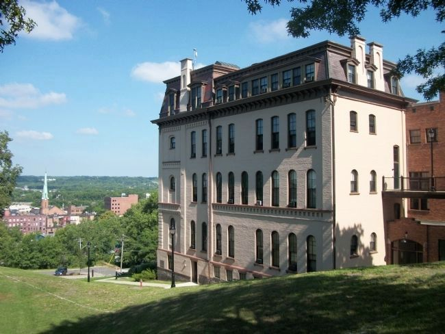 West Hall Overlooking Troy image. Click for full size.