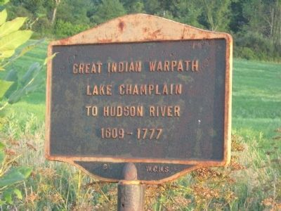 Great Indian Warpath Marker image. Click for full size.
