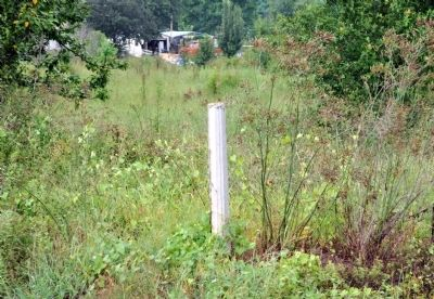 Old Savannah Road Marker Post image. Click for full size.