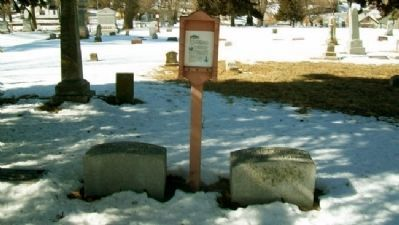 Andrew Jackson Poppleton Grave and Marker image. Click for full size.