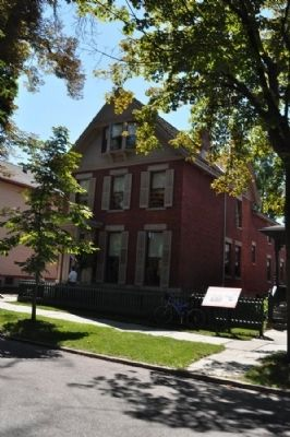 Susan B. Anthony House image. Click for full size.