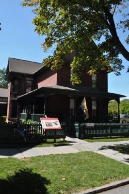 Susan B. Anthony House Visitors Center image. Click for full size.
